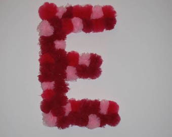 Giant letter for wall decoration (baby)