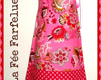 Dress, cotton, SALAMBO 2 to 10 years