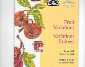 """Fruity Variations"" cross stitch booklet"