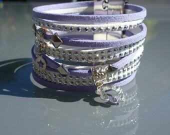 Suede Cuff Bracelet