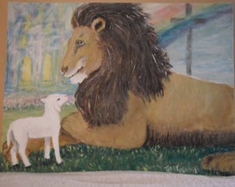 The Lion and lamb of God