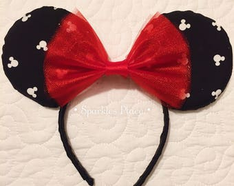 Simple Mouse Disney Inspires Mouse Ears