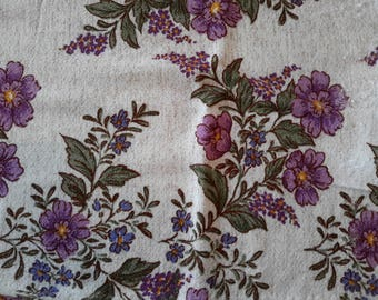 coupon of fabrics for patchwork floral 130 cm X 30 cm