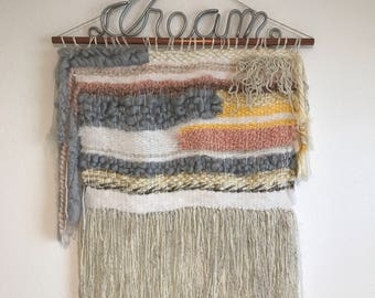 Dream weave wall hanging