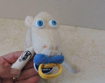Sheep Baby Lamb 1/16 w/ Pacifier Serta Counting Sheep Doll Toy