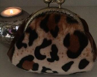 coin purse, retro, vintage, Fawn