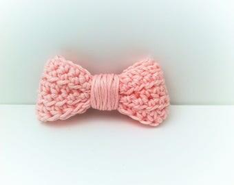 Brooch bow tie, cotton