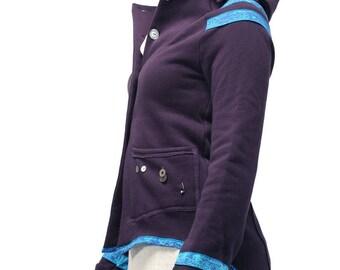 Jacket S albatross dark purple