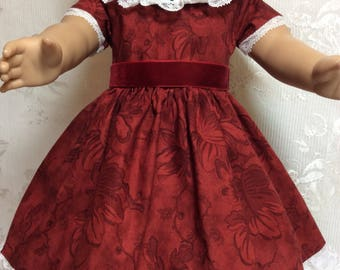 "Holiday Dress Up made to fit 18"" American Girl Doll"