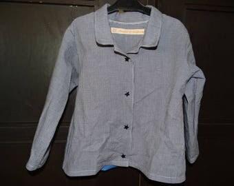 Boy cotton gingham shirt