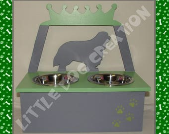 Cavalier King Charles bowls stand