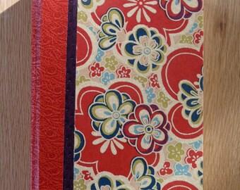 Red Japanese calendar
