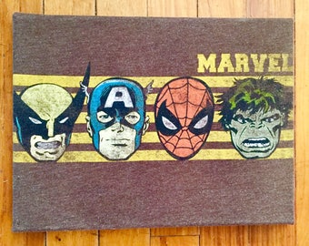 Superhero Canvas Art