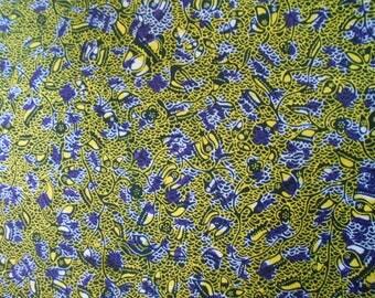 Fabric WAX Ankara fabric, wax (Ankara) 90cm x116cm