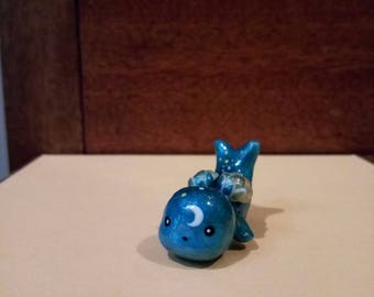 Moon inspired seal creature with wings :3 (handmade)