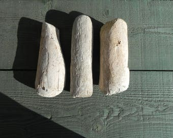 Set of 3 Driftwood for your creations