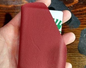Kydex Card Wallet In Red