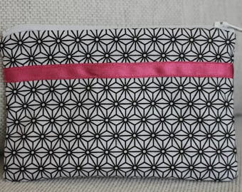 Fancy black and white Pocket small size