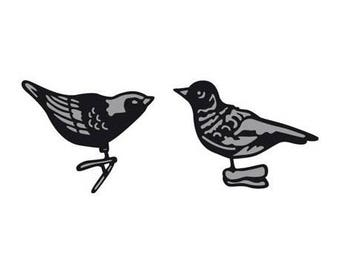 Cutting die Marianne Design Craftables Tiny's new birds ornaments