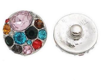 1 button pressure. With bright multicolored