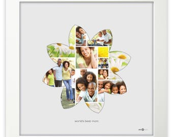 for her daisy - photo collage