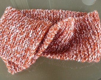hand knitted child or adult scarf