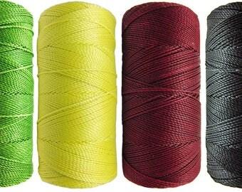 Thread nabbed macrame - Linhasita - Bob Marley