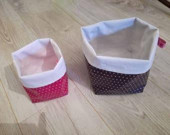Empty-Pocket multi-use baskets