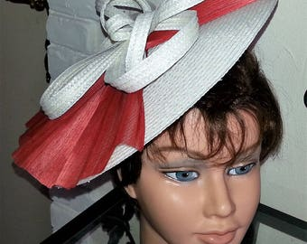 Ivory and coral ceremonial Hat