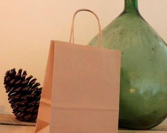 5 kraft paper bags