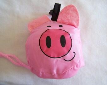 Foldable, waterproof, pig pattern bag