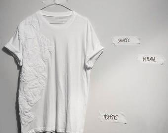 T-shirt unisex hand Made Emboss