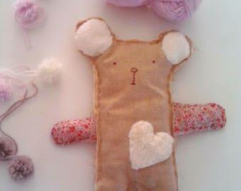 Teddy bear with his little heart