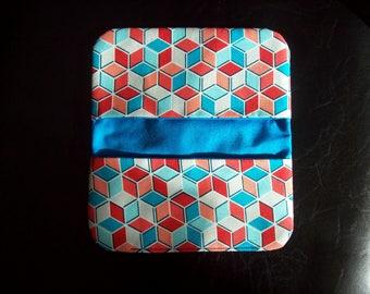 Cube Checkbook Cover