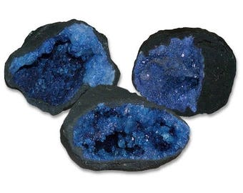 Colorful Geode - blue