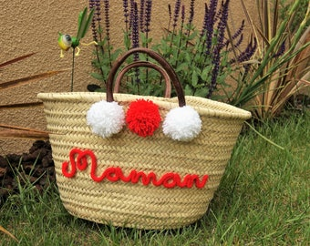 Personalized knitting Tote