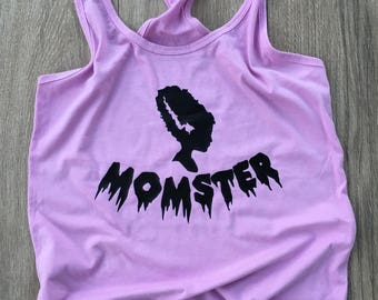 Momster Tank/Tee | Halloween Mom Costume