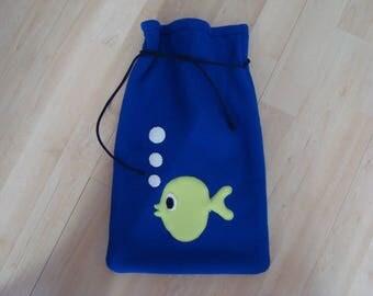 Plush anti-pill fleece - kind bag