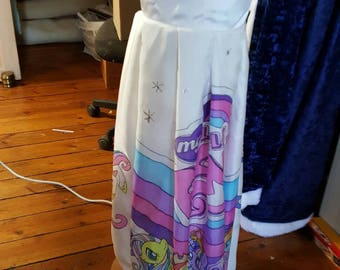 Girl 6 my little pony made hand dress
