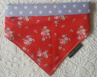 One Reversible Bandana - Four Different Looks - Multiway. Cath Kidston Fabric