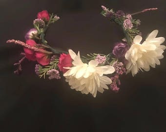 Hand Made Flower Crown