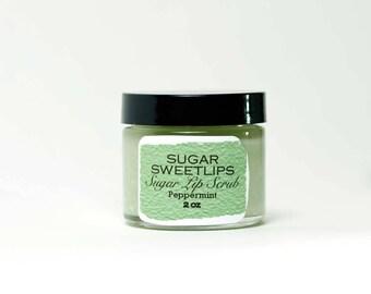 Peppermint Sugar Lip Scrub
