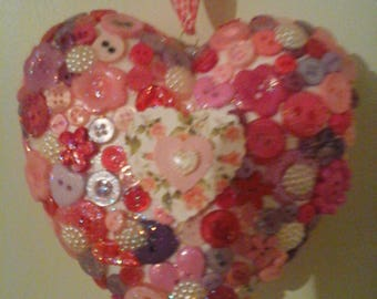 Hanging Heart decoration.
