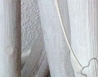 Flower Silver Flower Choker necklace