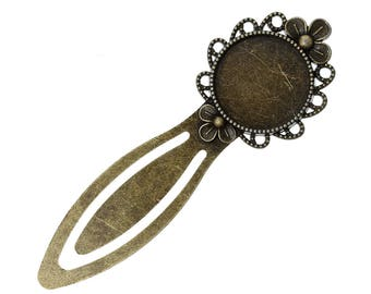 Bookmark Bronze 20mm - SC39834 cabochon - 5