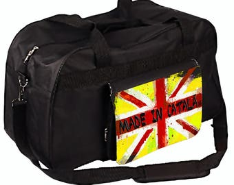 Gym bag or travel catalan style size M