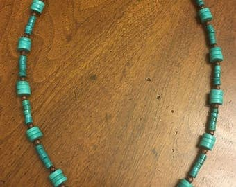 Genuine Turquoise Necklace