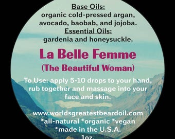 La Belle Femme Face and Body Oil (1oz.)