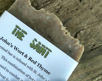 St. John's Wort and Red Thyme Soap