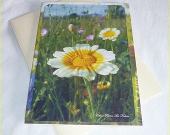 """Carte double """" Evasion champêtre """" 10,5x15cm de Céline Photos Art Nature"""